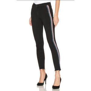 MOTHER High Waisted Looker Ankle Fray 29